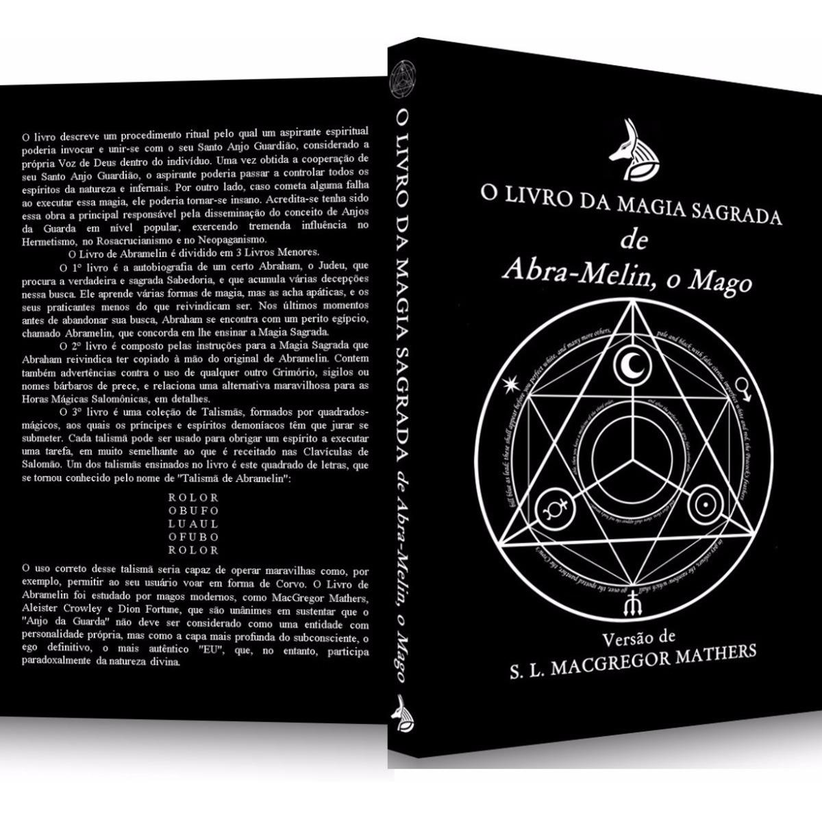 2 Livros São Cipriano O Bruxo Capa Preta + Abramelin, O