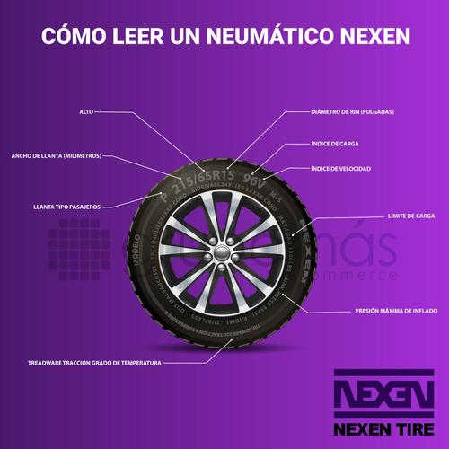 2 llantas 195/65r15 nexen cp661 91h nex226 radial