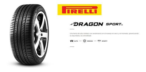 2 llantas 225 45 r17 91w pirelli dragon sport 225/45 r17