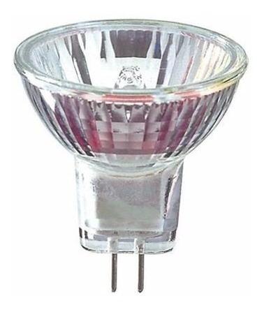 2 lâmpada halógena dicróica mr11 gu4 35w 220v bronzearte