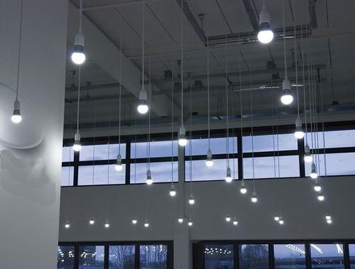 2 lâmpadas de led 15w bulbo e27 90% econômico 220v
