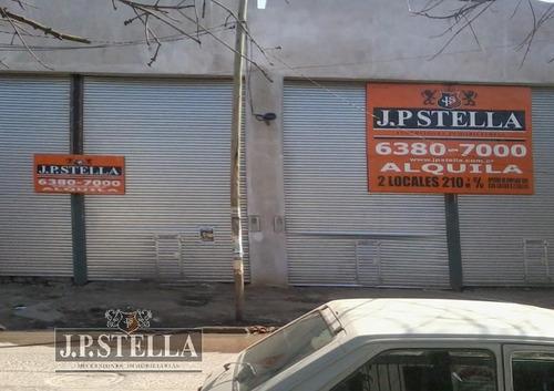 2 local comerciales - 421 m2 (208 m2 y 213 m2) juntos o separados - ezeiza