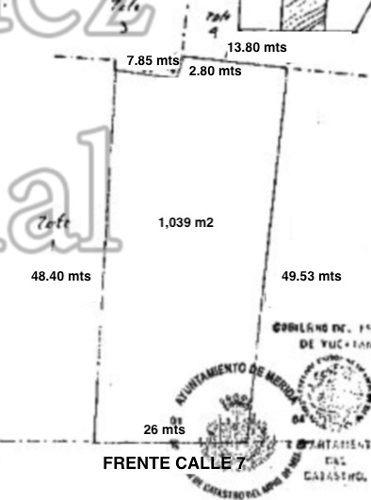 2 lotes de 2,747 m2 en esquina frente a plaza altabrisa, mérida norte