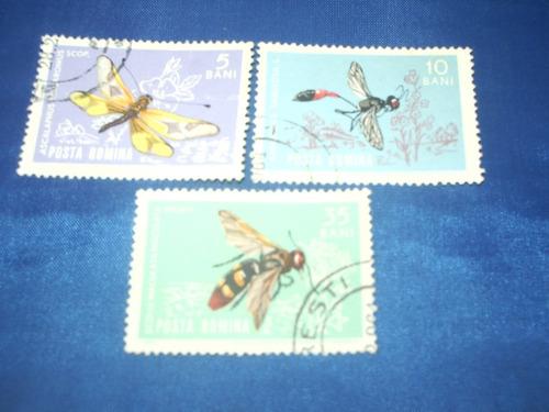 2 lotes distintas series insectos..