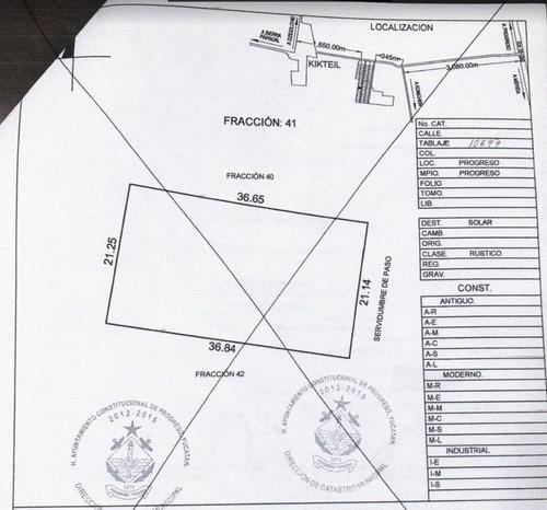 2 lotes palmira komchen, propiedad privada, oportunidad $340 pesos x m2