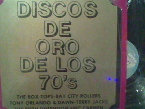 2 l.p. grandes de discos de oro de los 70,s