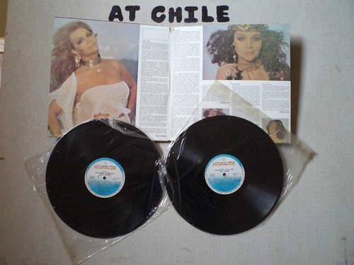 2 lp vinilos sara montiel, álbum: canciones de mi vida