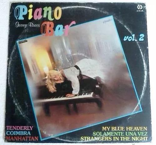2 lps george brass piano bar vol 1 e 2