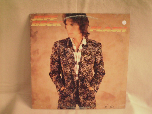 2 lps jeff beck - wired - flash - nacional - exc  - r$ 70,00