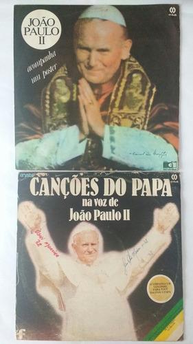 2 lps papa joão paulo ii canções benção papal frete gratis