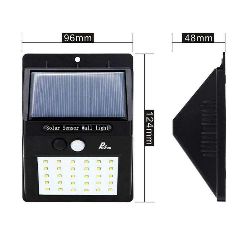 97bf75e1ea86a 2 luces solares luz 30 led lámpara solar exterior exterior. Cargando zoom.
