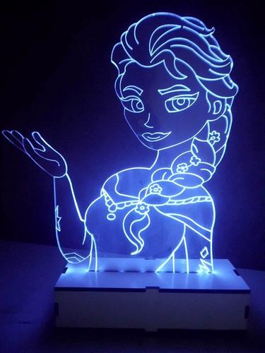 2 luminária led (energia fonte 12v )