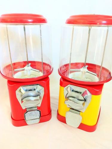 2 máquina de bolinha pula pula  - vending machine 1,00