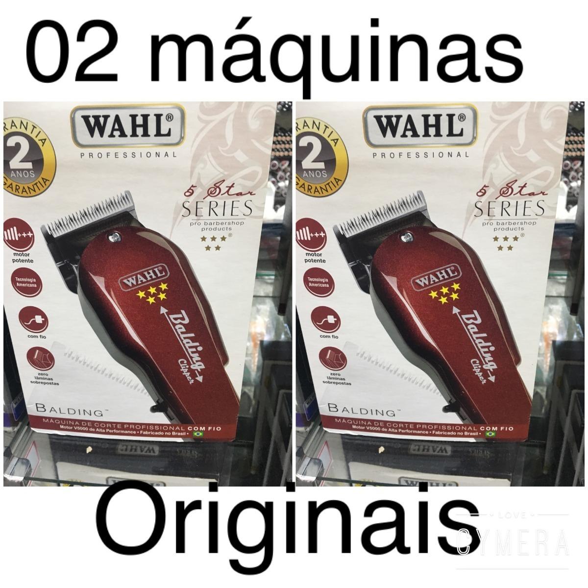 aae1f2a44 2 máquina de cortar cabelo wahl balding clipper 110 ou 220. Carregando zoom.