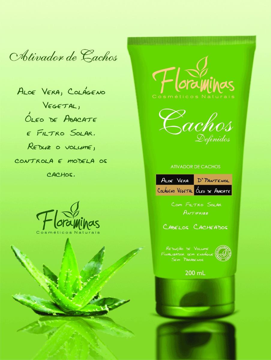694721831d25 2 Mascaras 500g 2 Ativador Cachos 200g Produtos Floraminas - R$ 133,80 em  Mercado Livre