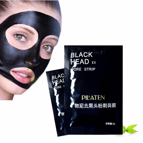 2 mascarillas negra pilaten remueve puntos acne al por mayor
