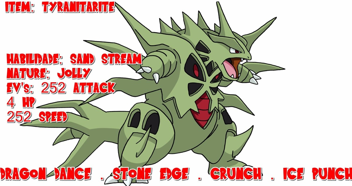 2 Mega Tyranitar Shiny Pokémon X/y Oras S/m Ultra 3ds 6iv ...