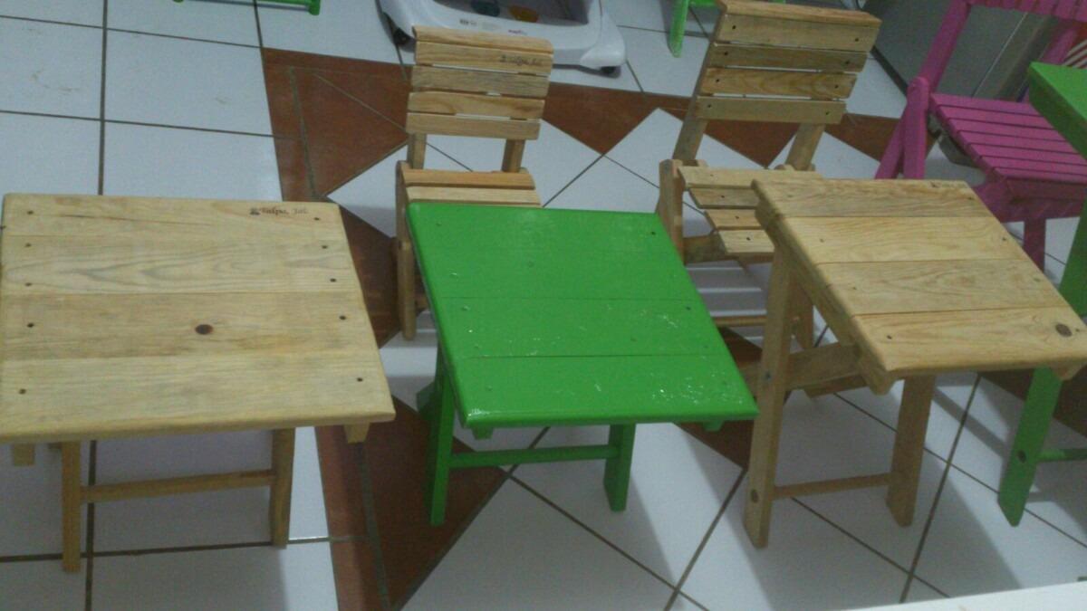 2 mesas de madera para ni os en mercado libre - Mesas madera ninos ...