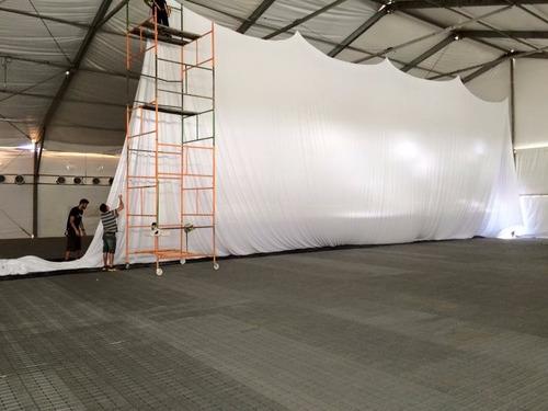 2 metros - tecido malha lycra para tensionar decoração festa