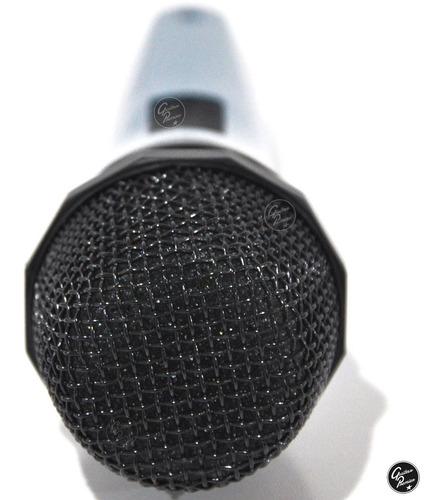 2 microfonos dinamicos + 2 pies + 2 pipetas + 2 cables gtia
