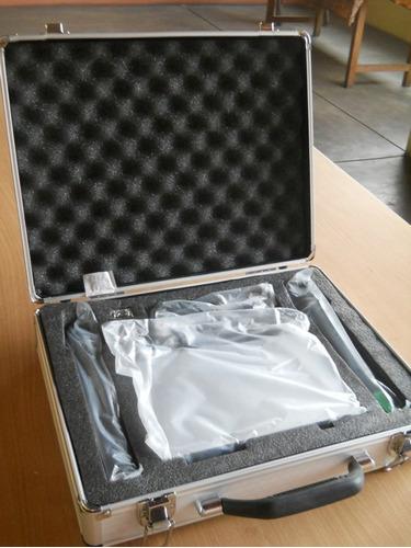 2 microfonos inalambricos profesionales + pack karaoke 52000