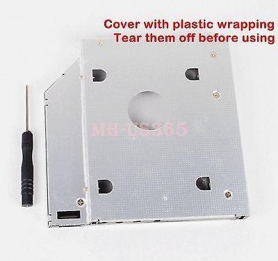 2 º módulo de caddy disco duro de sata de acer aspire 5-9585