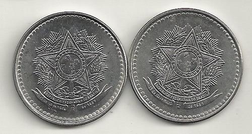 2 moedas de 10 cruzados (1987-88)