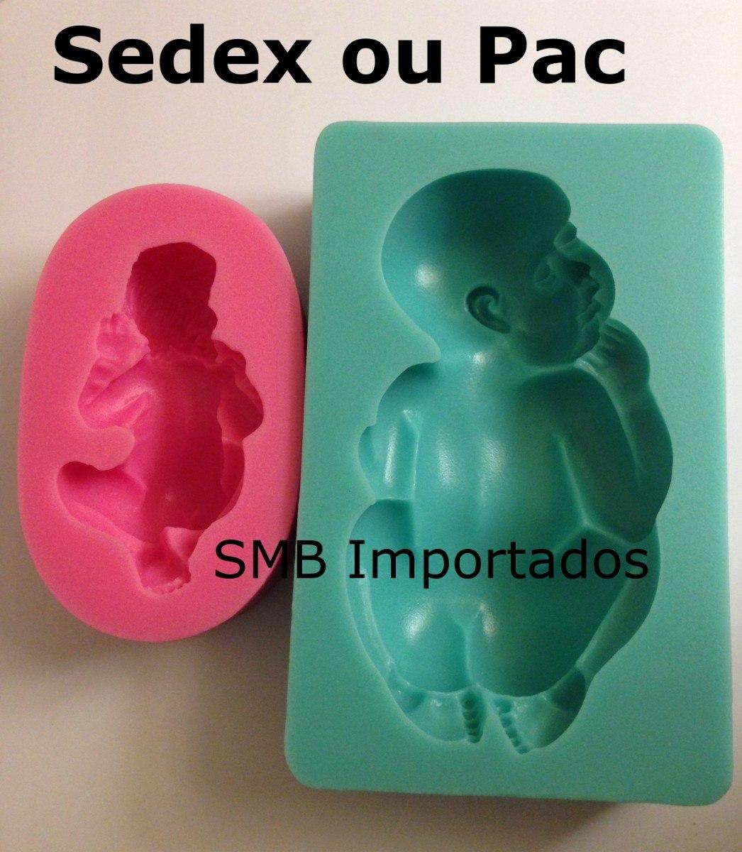 a54a6bca4 2 moldes de silicone bebê baby biscuit etc - 8cm e 11cm. Carregando zoom.