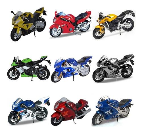 2 motos a escala welly a elección