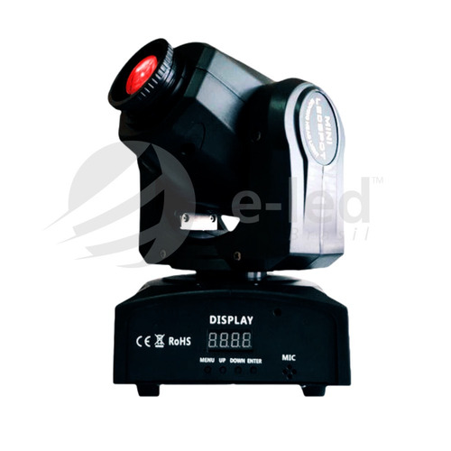 2 moving head spot led osram 30w 7 cores 7 desenhos dmx dj