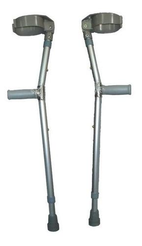 2 muletas mobicare tipo canadiense altura ajustable ecl05