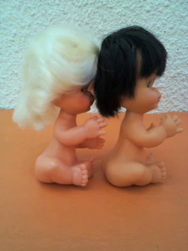 2 muñecas yoli bell años 70s. exelente estado