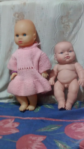 2 muñecos 1 yoly bell nena con ro berenguer varon $ 450 c/u