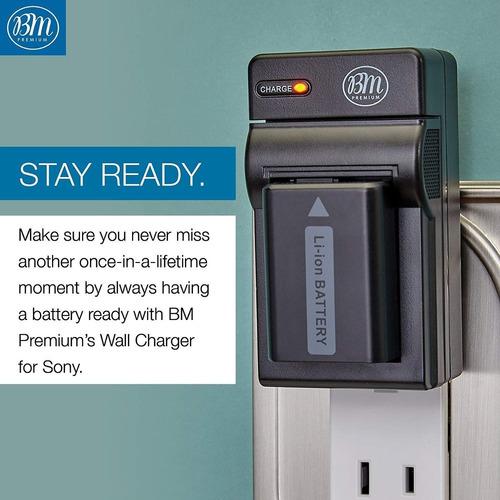2 np-fw50 baterías y cargadores para sony a6400, dsc-rx...