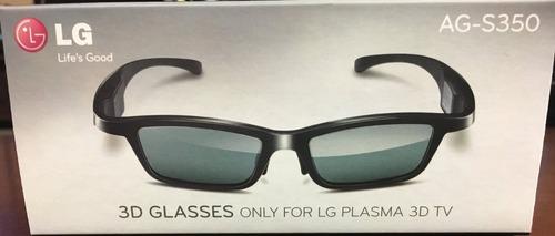 2 oculos 3d lg ag-s350 original (nunca usado)