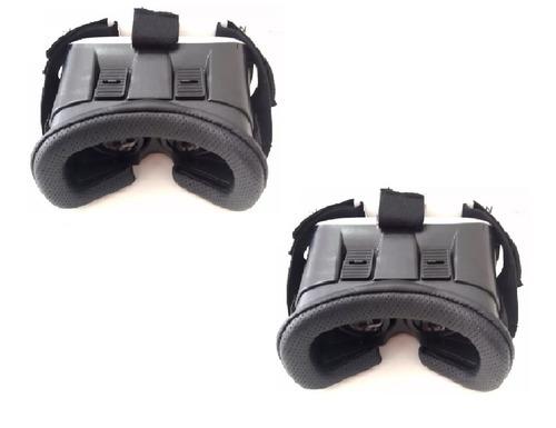 2 oculos 3d realidade virtual cardboard android ios hi vi ud