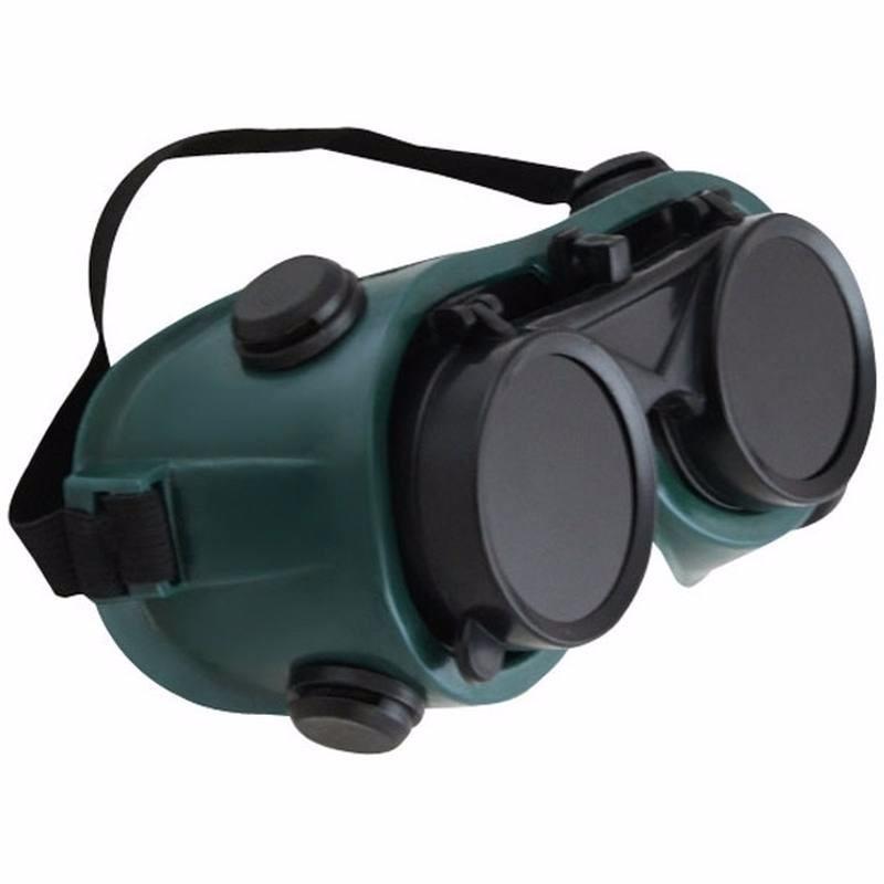 e0426bdf50ecd 2 óculos de segurança para soldador lente dupla articuláveis. Carregando  zoom.