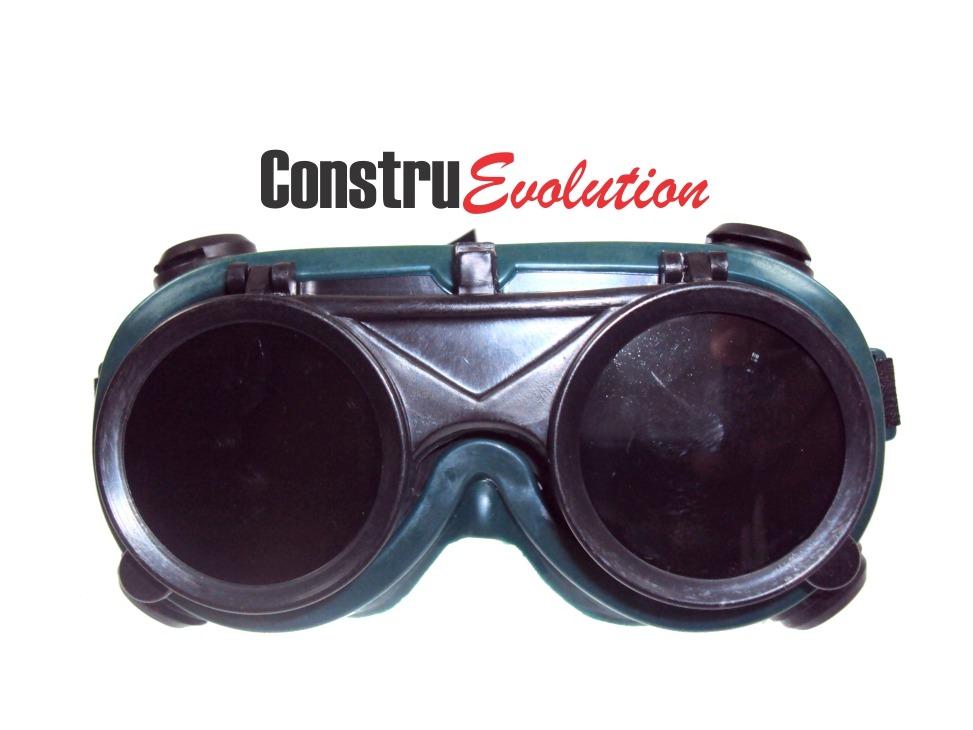 2 Óculos De Segurança Para Soldador Lente Dupla Articuláveis - R ... 7494754072