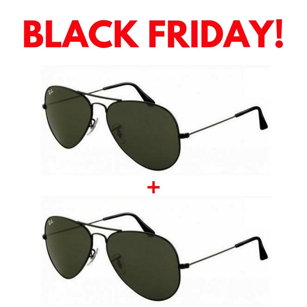 da60d532537bf 2 oculos de sol ray ban aviador rb3026 unissex black friday. Carregando  zoom.