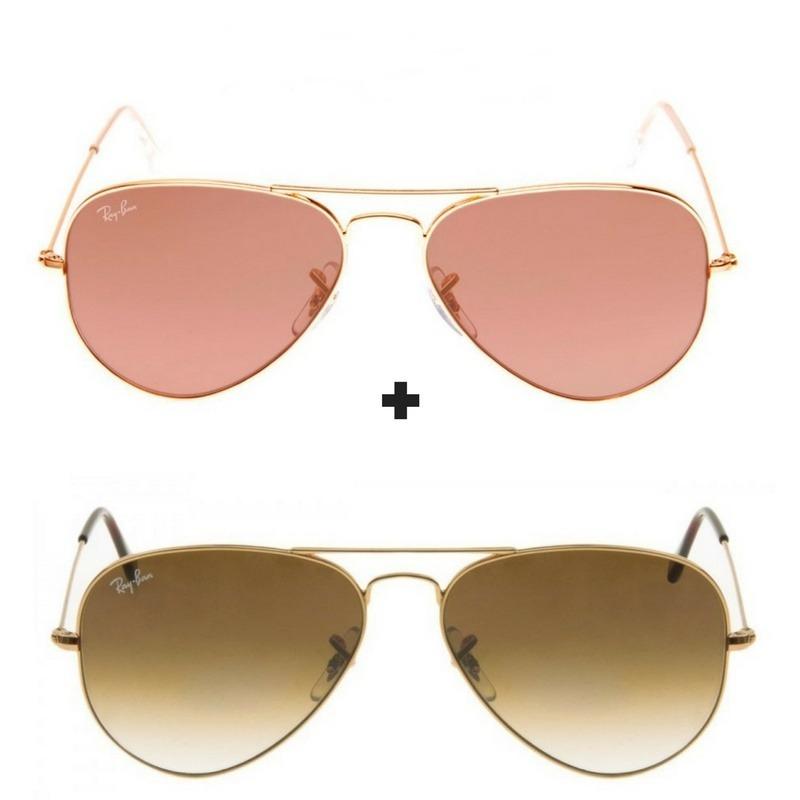 2 oculos de sol ray-ban aviador rb3026 unissex black friday. Carregando  zoom. cfebfdb0cd