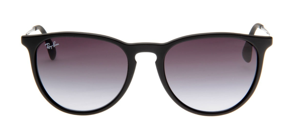 a06e54ef3d95d 2 óculos de sol ray ban erika rb4171 preto original feminino. Carregando  zoom.