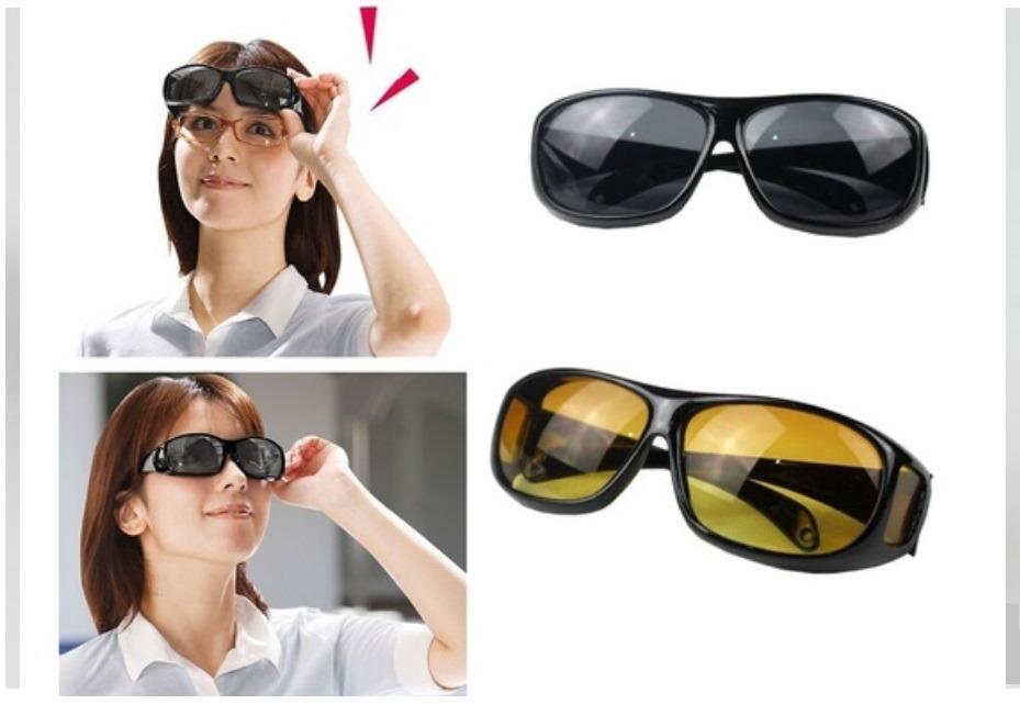 03eb4c1d1 2 Óculos Escuro E Amarelo De Sobrepor O De Grau No Brasil - R$ 72,00 ...