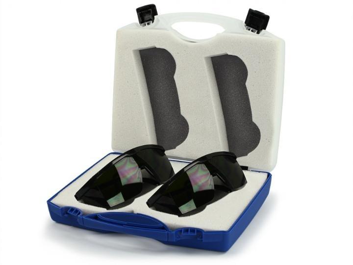 2 Óculos Laser Proteção Ocular Dos Raios 660nm 830nm E 904nm - R ... 75423b7a45
