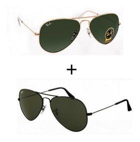 d002d53e8 Rayban Aviador - Óculos De Sol com o Melhores Preços no Mercado Livre Brasil