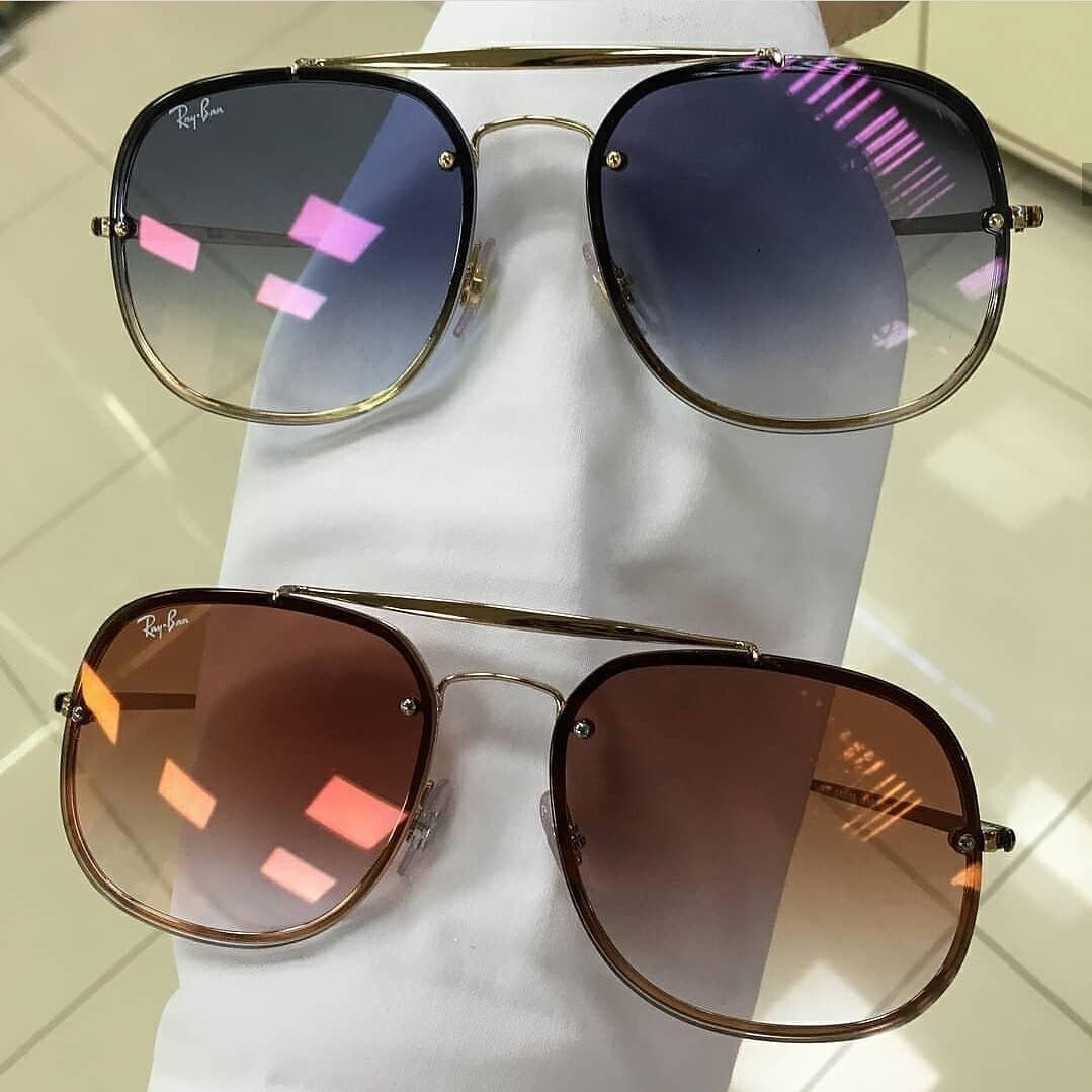 613ad74949fe4 2 Óculos Ray Ban Promoção Natal Rb3647 + Rb3583 - R  580