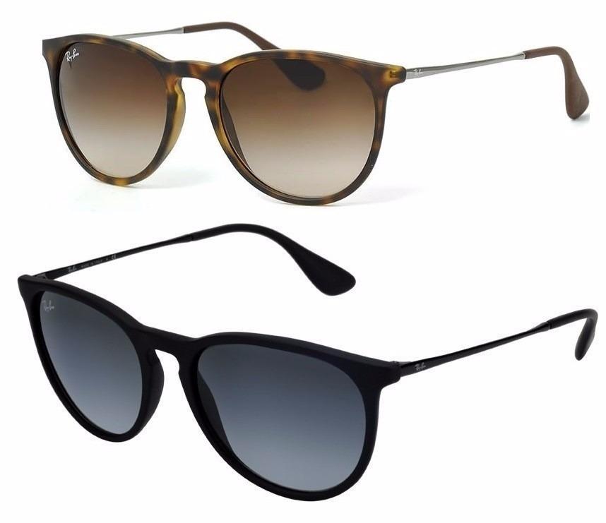 cbb2fb277 2 Oculos Rayban Erika Velvet Original Promoçao!!! - R$ 489,49 em ...