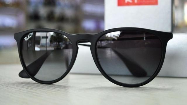 e0b679a9b803e 2 Oculos Rayban Erika Velvet Polarizado Original Promoçao!!! - R  500