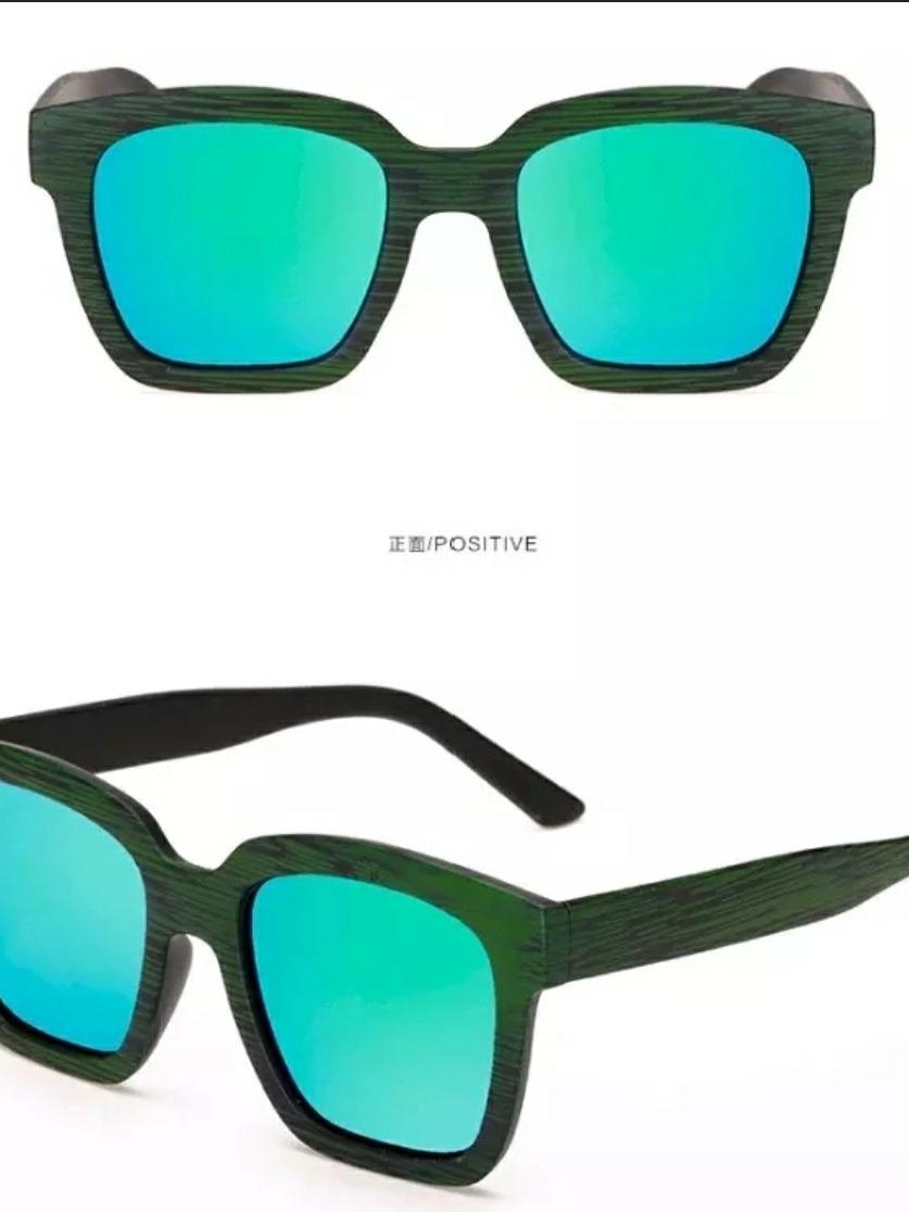 98c253c1f 2 óculos sol feminino masculino madeira retrô vintage uv400. Carregando zoom .