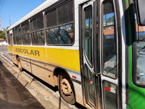 2 onibus escolar 46 lugares marcopolo viale aceito trocar 2