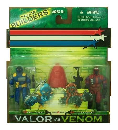 2 pack alley viper ii y cobra viper con comic no 7
